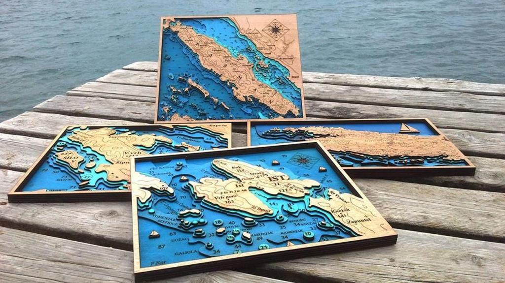 Drvene karte - suvenir