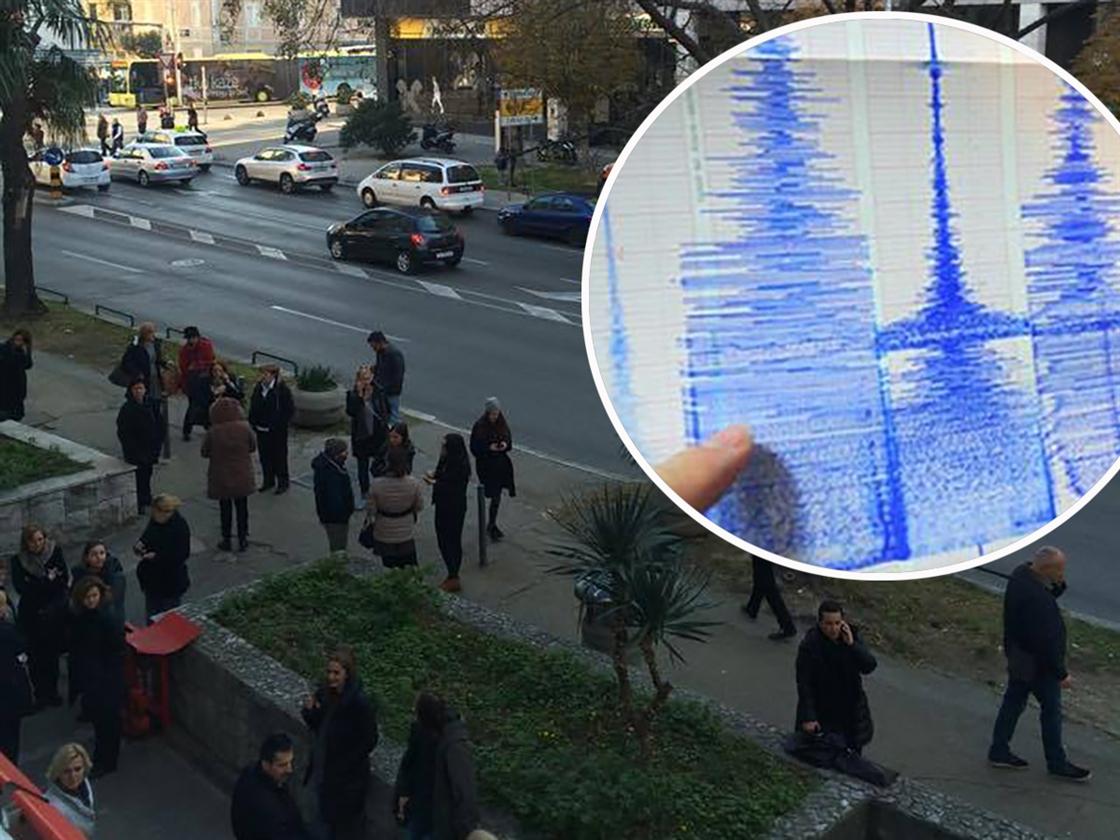 Split potres