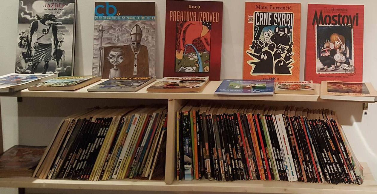Strip Biblioteka