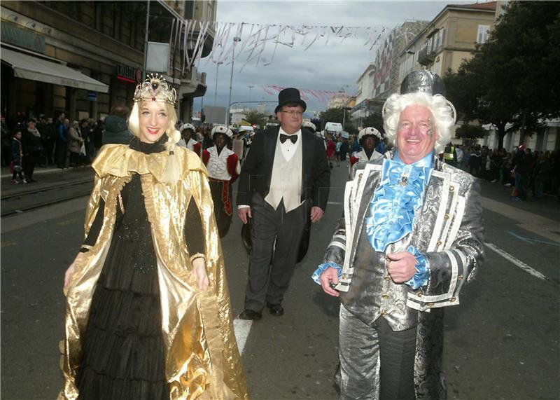 Riječki karneval - foto Hina