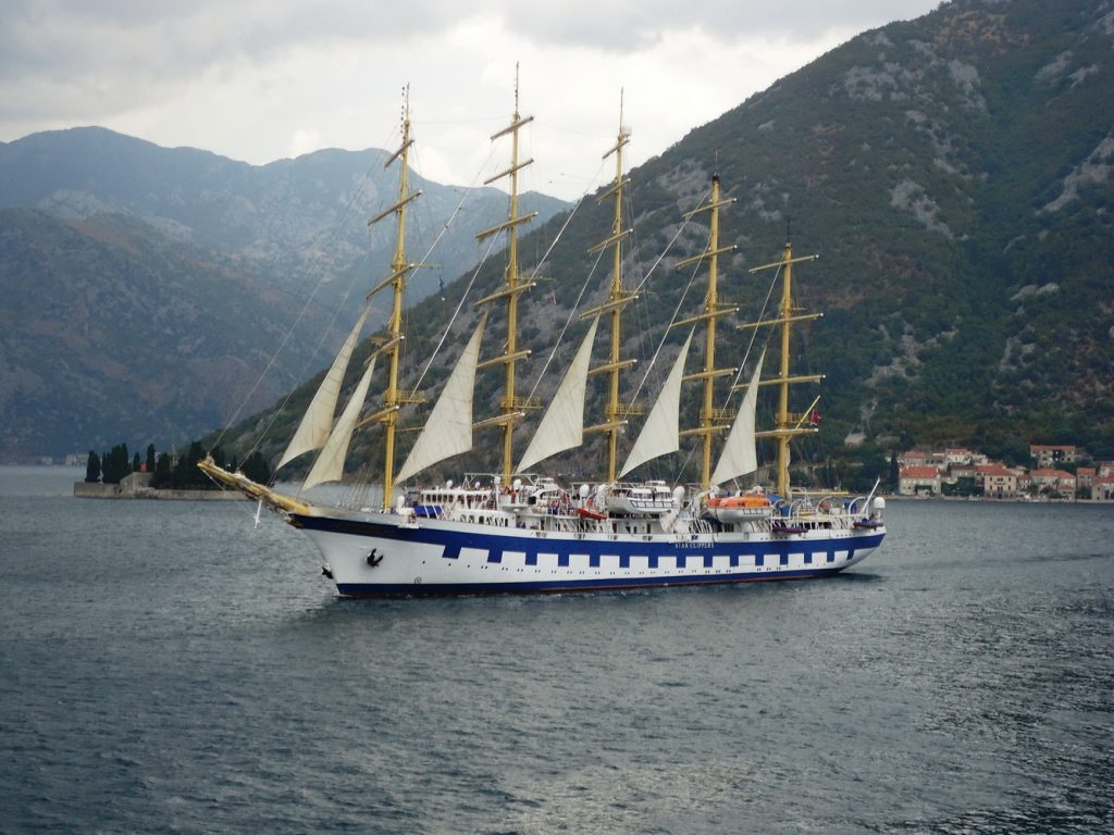 Royal Clipper u Boki